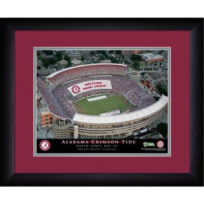 Alabama Crimson Tide Personalized Stadium Print | Get Letter Art | STAALA