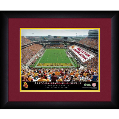 Arizona State Sun Devils Personalized Stadium Print | Get Letter Art | STAASU