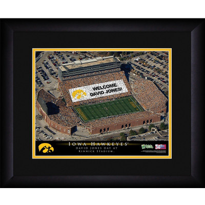 Iowa Hawkeyes Personalized Stadium Print | Get Letter Art | STAIOW