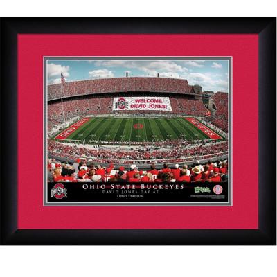 Ohio State Buckeyes Personalized Stadium Print | Get Letter Art | STAOHIO