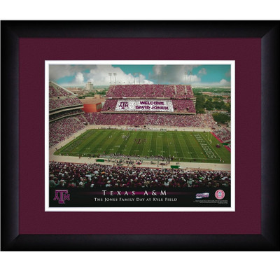 Texas A&M Aggies Personalized Stadium Print | Get Letter Art | STATAM