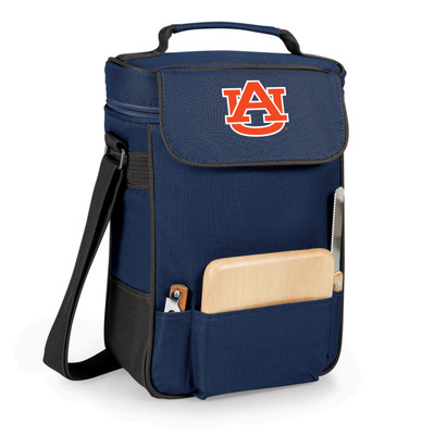 Auburn Tigers Duet Wine and Cheese Picnic Tote | Picnic Time |  623-04-138-042-0-1