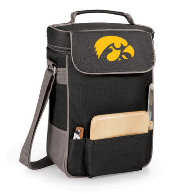 Iowa Hawkeyes Duet Wine and Cheese Picnic Tote | Picnic Time | 623-04-175-222-0-1