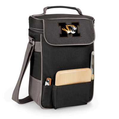 Missouri Tigers Duet Wine and Cheese Picnic Tote | Picnic Time | 623-04-175-392-0-1