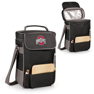 Ohio State Buckeyes Duet Wine and Cheese Picnic Tote | Picnic Time | 623-04-175-442-0-2