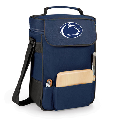 Penn State Nittany Lions Duet Wine and Cheese Picnic Tote | Picnic Time | 623-04-138-492-0-1