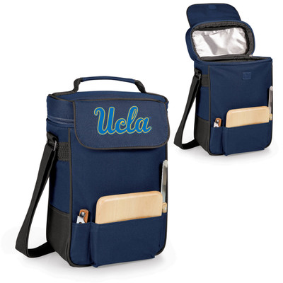 UCLA Bruins Duet Wine and Cheese Picnic Tote | Picnic Time | 623-04-138-082-0-2