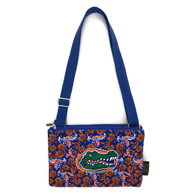 Florida Gators Quilted Cotton Crossbody Purse | Eagles Wings | 10120