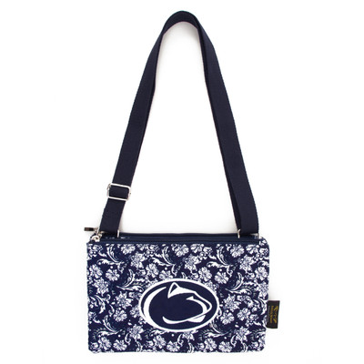 Penn State Nittany Lions Quilted Cotton Crossbody Purse | Eagles Wings | 10185