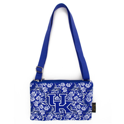 Kentucky Wildcats Quilted Cotton Crossbody Purse | Eagles Wings | 10230