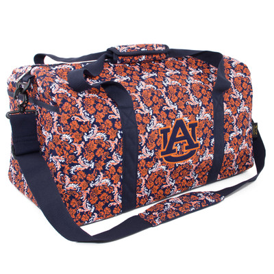 Auburn Tigers Quilted Cotton Large Duffel Bag 0fb5d3942e5ee