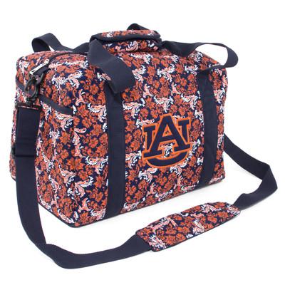 Auburn Tigers Quilted Cotton Mini Duffle Bag 93138ce8fd7b5