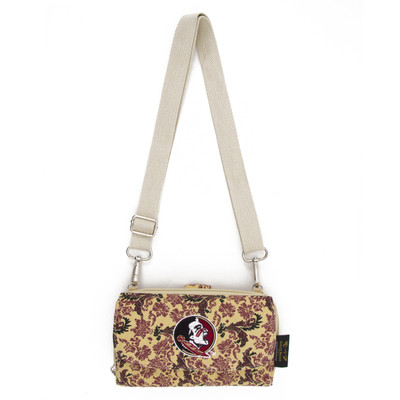 Florida State Seminoles Quilted Cotton Cross Body Wallet | Eagles Wings | 10126-1