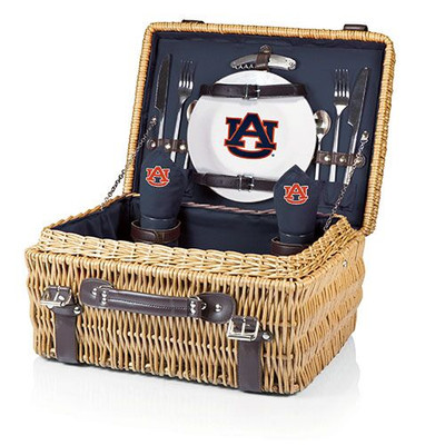 Auburn Tigers Champion Picnic Basket | Picnic Time | 208-40-138-044-0