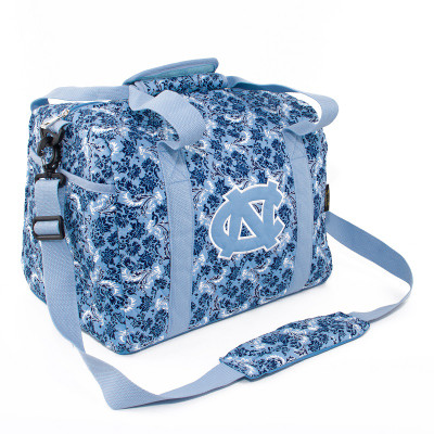 UNC Tar Heels Quilted Cotton Mini Duffle Bag | Eagles Wings | 10133