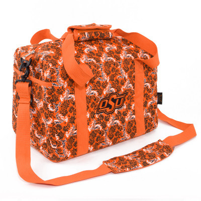 Oklahoma State Cowboys Quilted Cotton Mini Duffle Bag | Eagles Wings | 10178