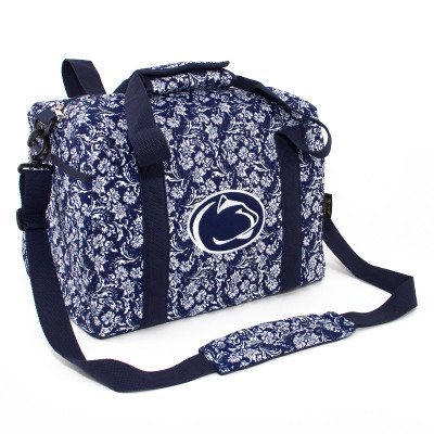 Penn State Nittany Lions Quilted Cotton Mini Duffle Bag | Eagles Wings | 10188
