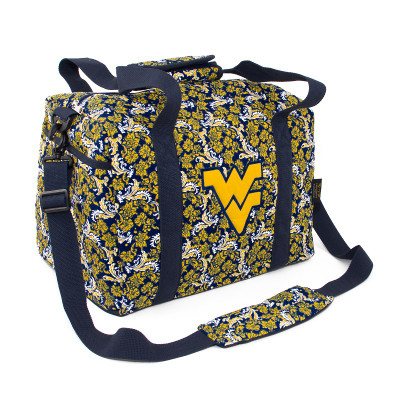 West Virginia Mountaineers Quilted Cotton Mini Duffel Bag | Eagles Wings | 10218
