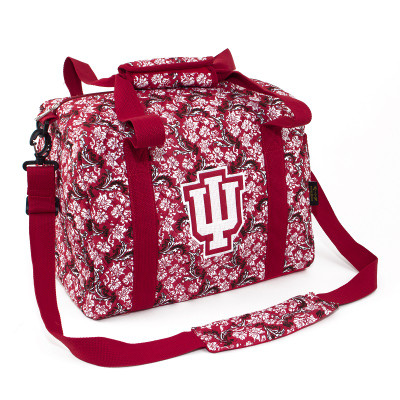 Indiana Hoosiers Quilted Cotton Mini Duffle Bag | Eagles Wings | 10238
