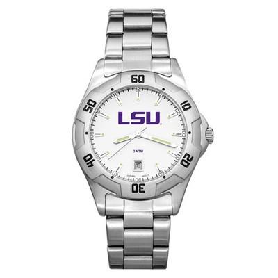 LSU Tigers Men's All-Pro Men's Chrome Watch | Logo Art | LSU163