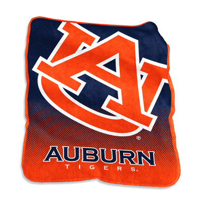 Auburn Tigers Raschel Throw Blanket | Logo Chair | 110-26A