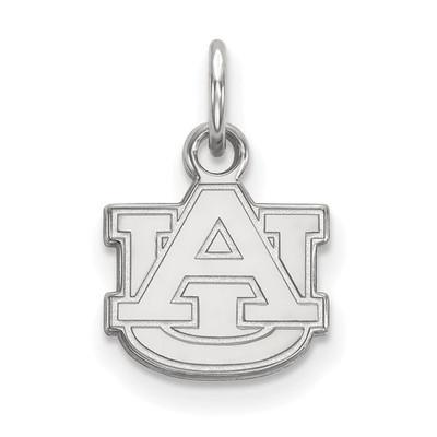 Auburn Tigers AU Logo Sterling Silver Pendant | Logo Art | SS001AU