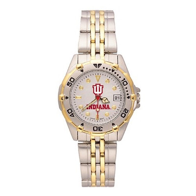 Indiana Hoosiers Women's All Watch | Logo Art | LGAIU204