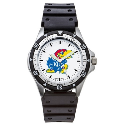 Kansas Jayhawks Option Sports Watch | Logo Art | UKS135