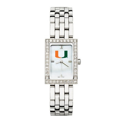 Miami Hurricanes Women's Allure Stainless Steel Watch | Logo Art | UMF134