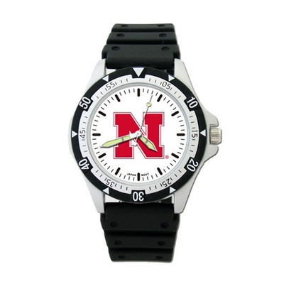 Nebraska Huskers Option Sports Watch | Logo Art | UNE235