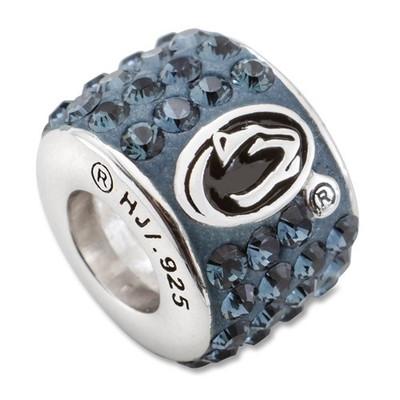 Penn State Lions Logo Sterling Silver Bracelet Bead Charm | Logo Art | PSU070CHM-SS