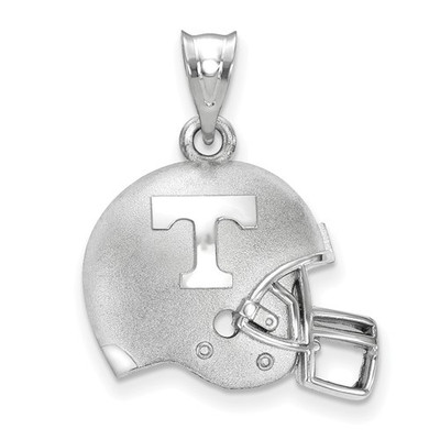 Tennessee Volunteers Sterling Silver 3D Football Helmet Pendant | Logo Art | SS505UTN