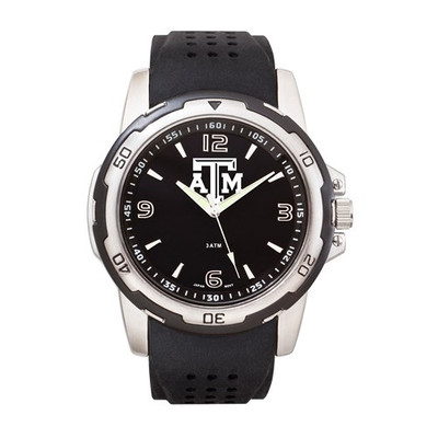 Texas A&M Aggies Men's Stealth Sports Watch | Logo Art | TAM141