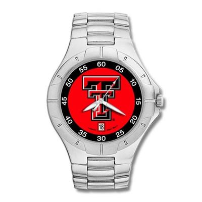 Texas Tech Red Raiders Men's Pro II Watch   Logo Art   TXT117