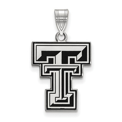 Texas Tech Red Raiders Enamel Pendant | Logo Art | SS032TXT