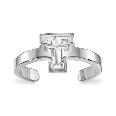 Texas Tech Red Raiders Sterling Silver Toe Ring   Logo Art   SS029TXT