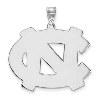 UNC Tar Heels Sterling Silver Pendant | Logo Art | SS005UNC