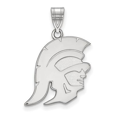 USC Trojans Sterling Silver Trojan Pendant | Logo Art | SS024USC