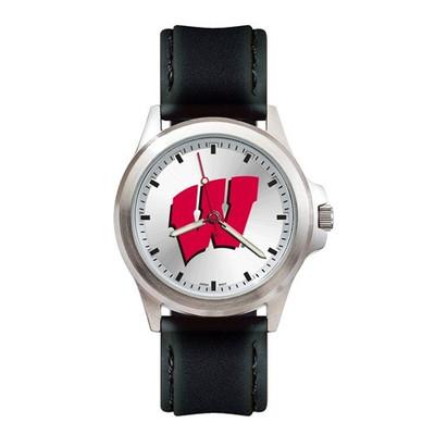 Wisconsin Badgers Fantom Men's Sport Watch | Logo Art | UWI137
