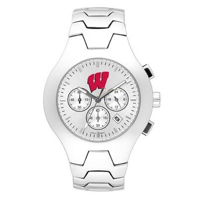 Wisconsin Badgers Men's Hall of Fame Watch | Logo Art | UWI113