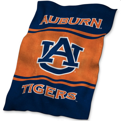 Auburn Tigers Ultrasoft Blanket   Logo Chair   110-27