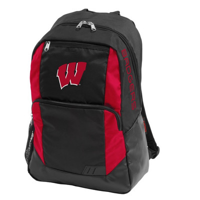 Wisconsin Badgers Closer Backpack | Logo Chair | 244-86