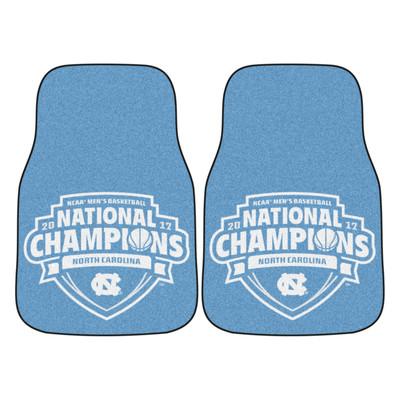 UNC Tar Heels National Champions Carpet Floor Mats | Fanmats | 18062