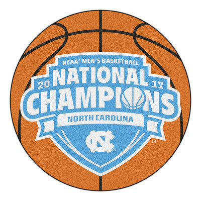 UNC Tar Heels National Championship Basketball Mat Rug | Fanmats | 18063