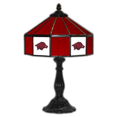 Arkansas Razorbacks 21??ÌÎÌÓ Glass Table Lamp | IPI359-3022