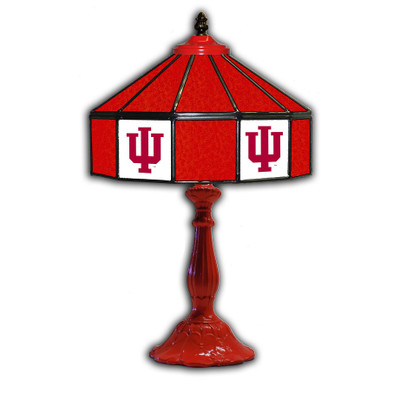Indiana Hoosiers 21??ÌÔ Glass Table Lamp | IPI359-3029