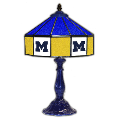 Michigan Wolverines 21??ÌÎÌÓ Glass Table Lamp | IPI359-3009