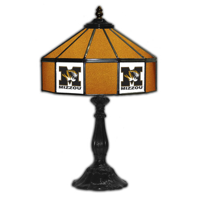 Missouri Tigers 21 in Glass Table Lamp | IPI359-3019