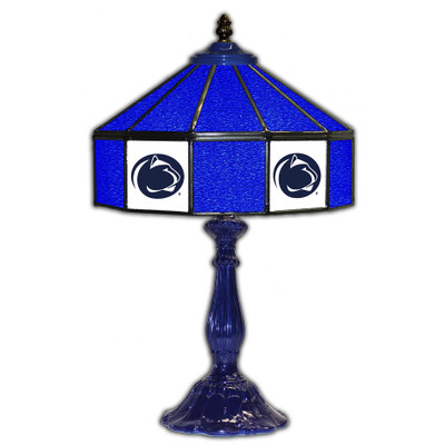 Penn State Nittany Lions 21 in Glass Table Lamp | IPI359-3017