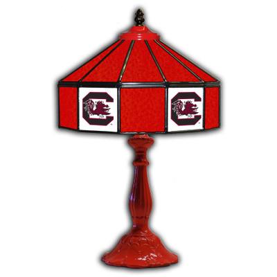 South Carolina Gamecocks 21 in Glass Table Lamp | IPI359-3036